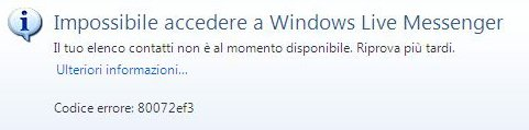 error code 80072ef3 Windows PC