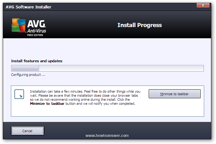Fix error 0x80070091 when installing AVG