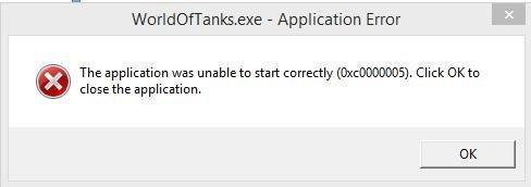 0xc000005 error code info